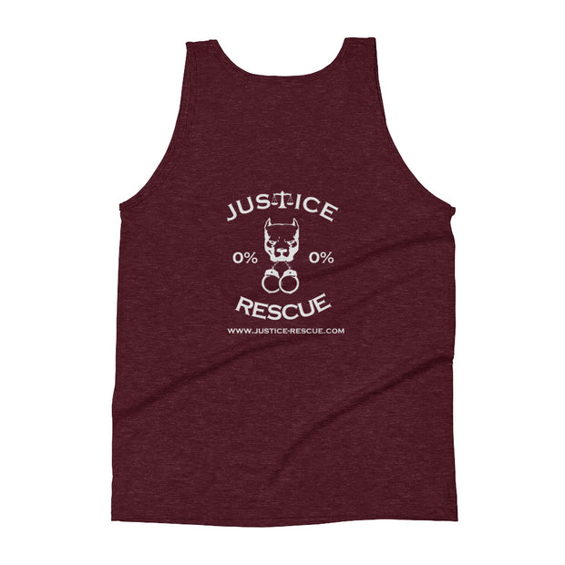 Live and Let Live Unisex Tank Top