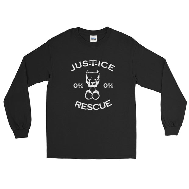 """Classic Justice Rescue"" Long Sleeve Unisex T-Shirt - Multiple Colors Available"
