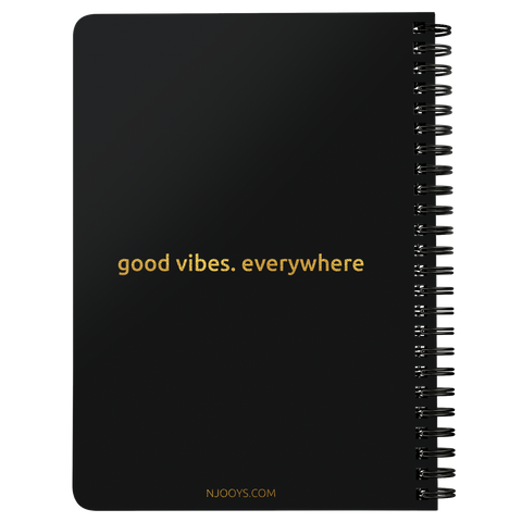 Be Positive | Spiralbound Notebook [Glam Edition]