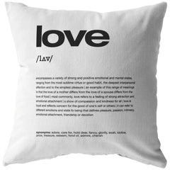 Nitty Gritty Love | Throw Pillow