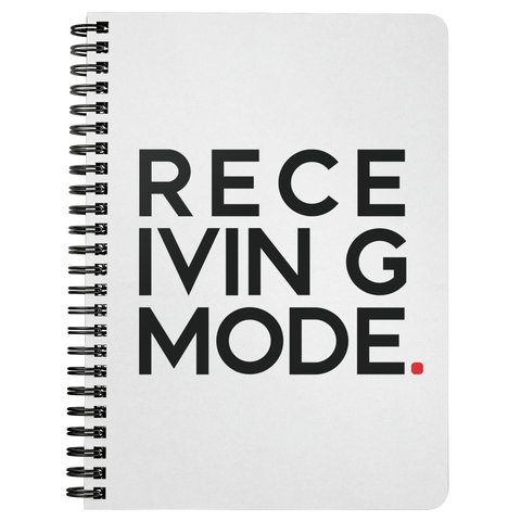 Receiving Mode | Spiralbound Notebook
