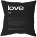 Nitty Gritty Love | Pillow [Black Edition]
