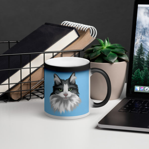 Heat Activated Color Changing 100% Custom Pet Mug
