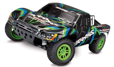 Traxxas Slash 1/10 4WD XL-5 RTR Short Course Truck Green
