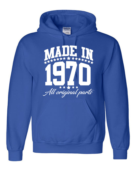 Made in 1970 all original parts Hoodie