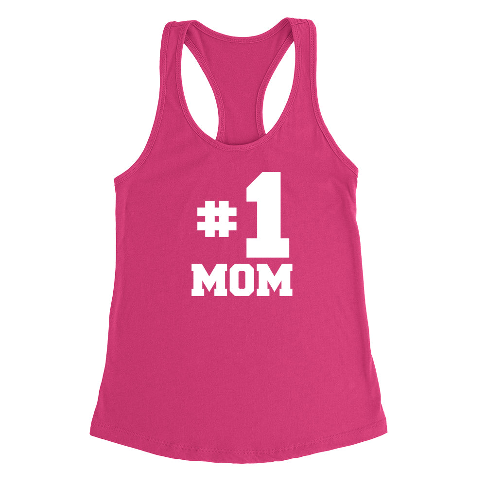 #1 mom, number one mom Tank Top