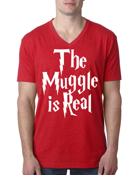 The muggle is real V Neck T Shirt