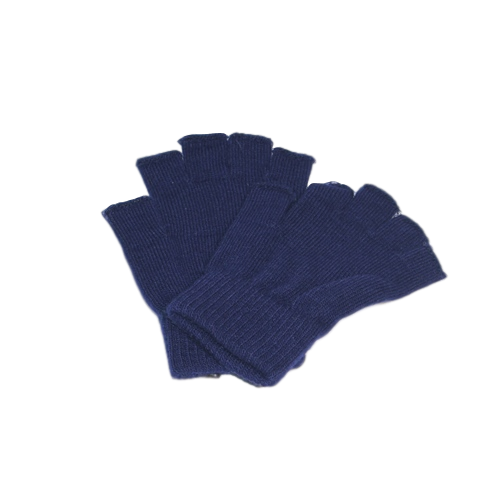 Gloves Navy - Half Finger