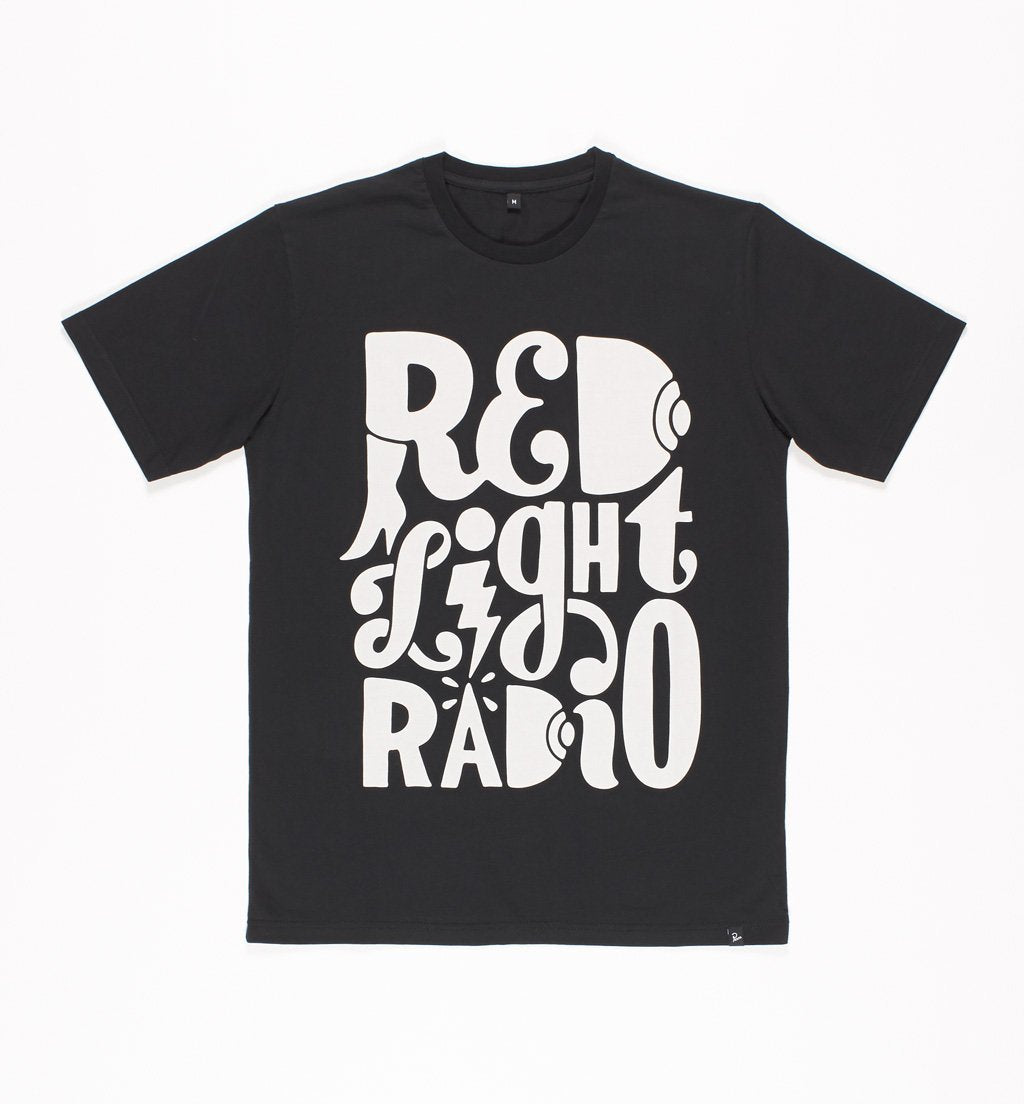 Parra - Red Light Radio logo t-shirt