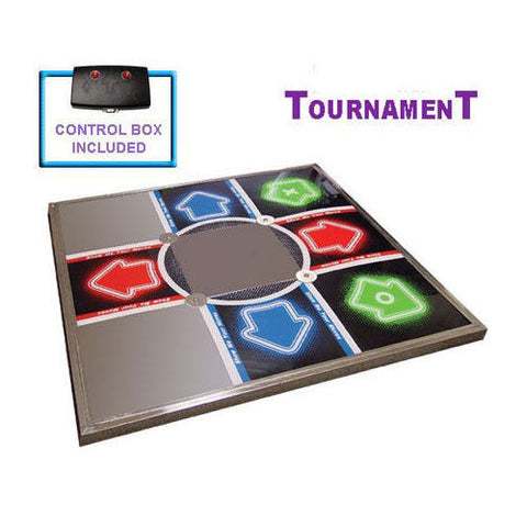 DDR V3 Tournament Metal Dance Pad Mat for PS / PS2 (Xbox 360 - Optional)
