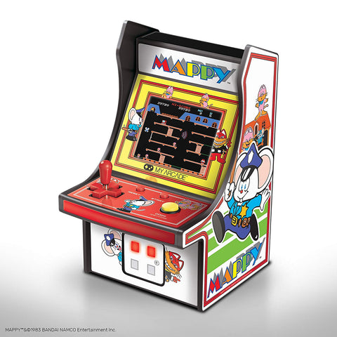 MY ARCADE Mappy Micro Arcade Machine Portable Handheld Video Game