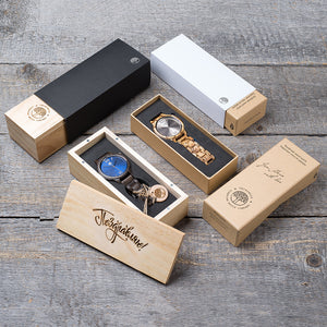 wood / leather watches