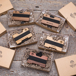 wood wallets & cardholders