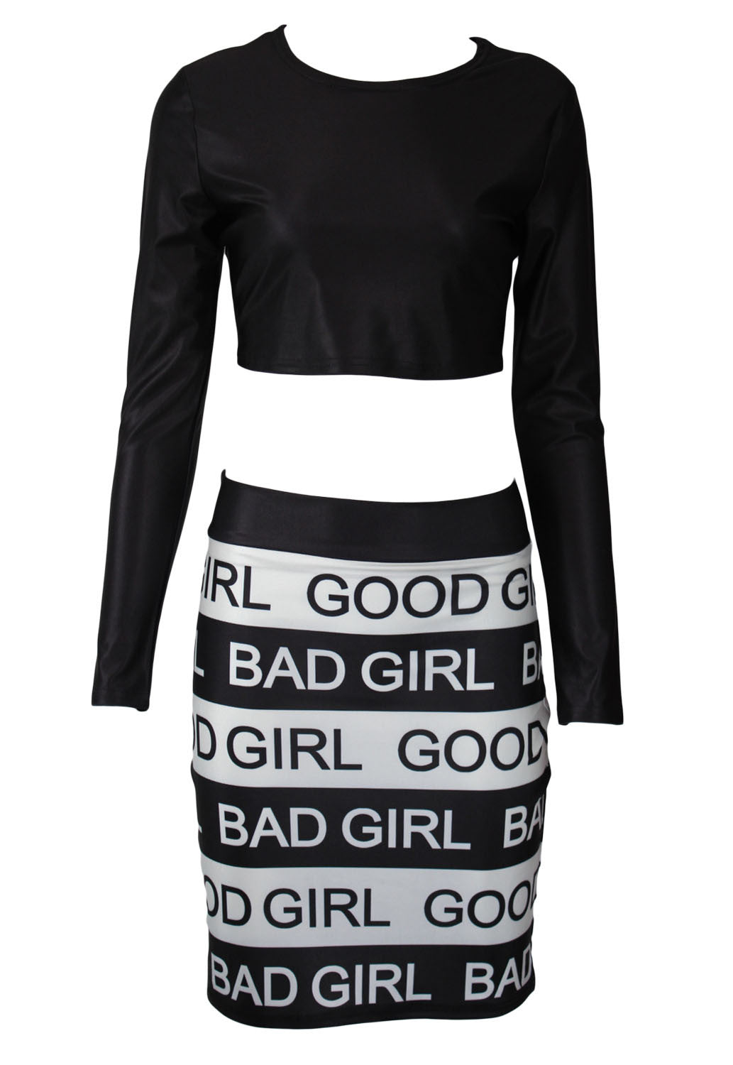 Good Girl Bad Girl Skirt Set - Jahnell's Closet