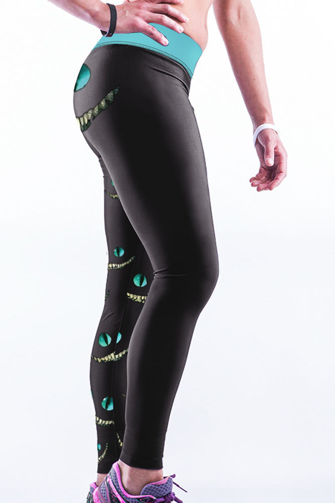 Cheshire Cat Yoga Pants - Jahnell's Closet
