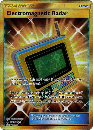 Electromagnetic Radar Full Art - 230/214 - Secret Rare