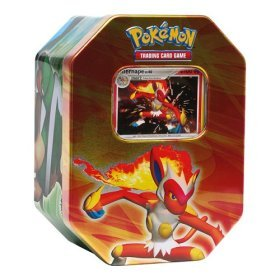 Storage Tin - Infernape LV.X - Empty