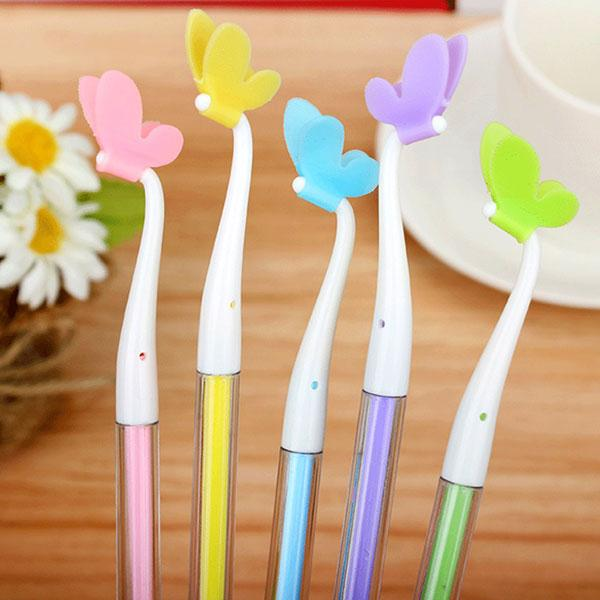 Cute and Colorful Butterfly Pens