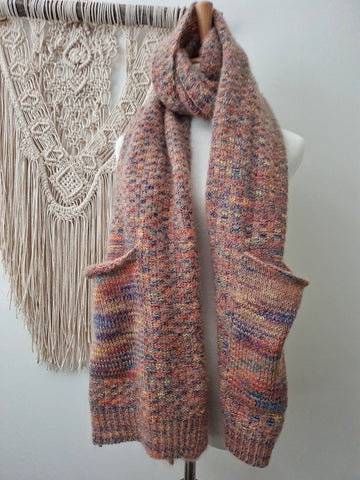 Womans pocket scarf