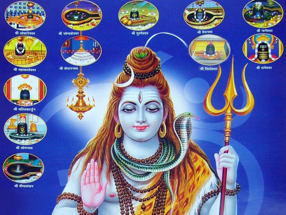 Shiva Dwadasha Jyotirlinga Stotram with meaning