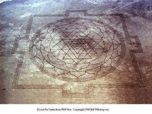 Mysterious appearance of Sriyantra in Oregon USA