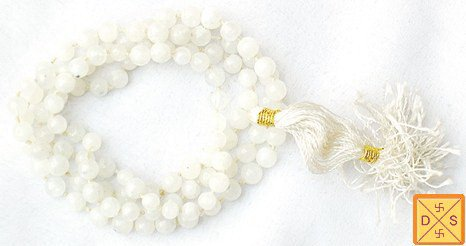 Moonstone mala for harmony and well being - Devshoppe