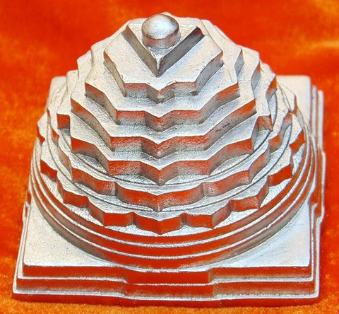 Parad Shree yantra ( Sriyantra ) for wealth and prosperity 1.5 Kgs - Devshoppe