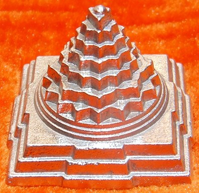 Parad Shree yantra (Sriyantra) for wealth and prosperity 50 gms - Devshoppe - 1