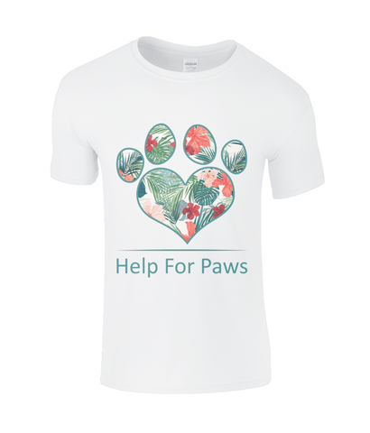 Clothing - Help For Paws Tropical T-Shirt