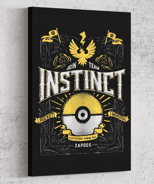 Team Instinct Canvas by Barrett Biggers - Pixel Empire