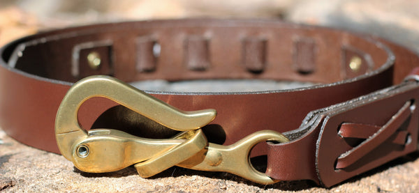 FIFTH&FIELDS Pelican Hook Leather Belt