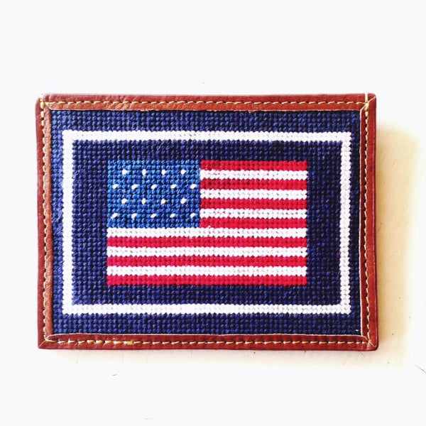 American Flag Card Wallet