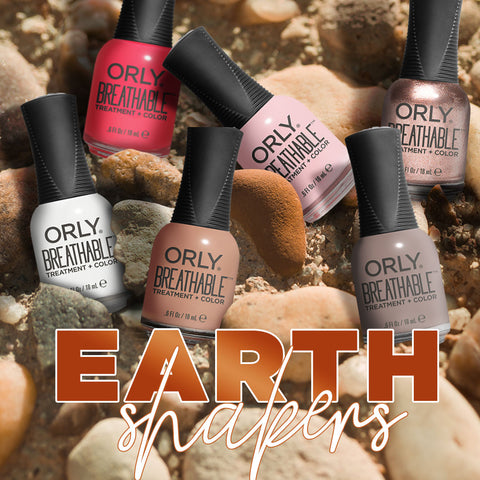 Orly Breathable Nail Lacquer Earthshakers Bundle