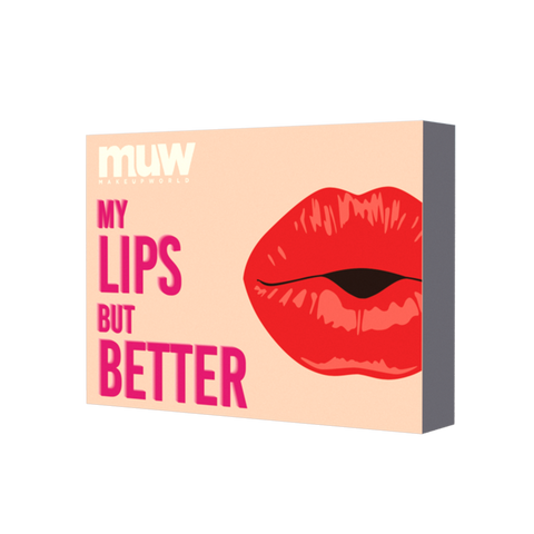Makeup World My Lips But Better- Set of 6 Pucker Up Lipsticks