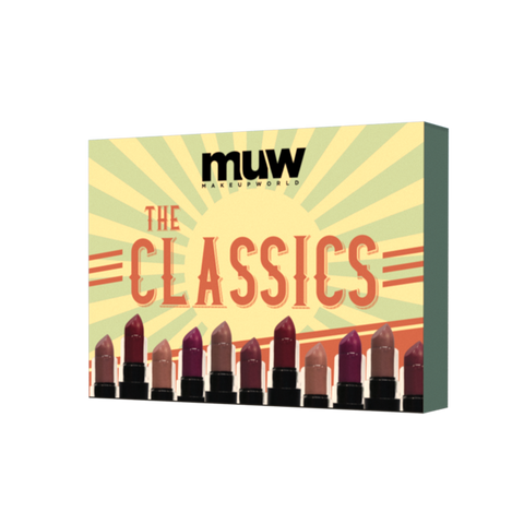Makeup World The Classics Bundle - 6 Pcs. Satin Lipstick