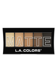 L.A. Colors Matte Eyeshadow Brown Tweed