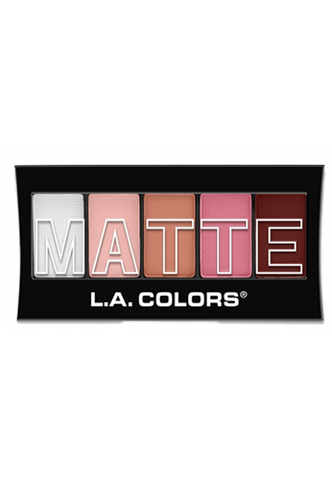 L.A. Colors Matte Eyeshadow Pink Chiffon