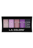 L.A. Colors Matte Eyeshadow Plum Pashmina