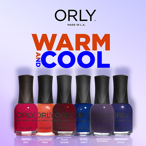 Orly Lacquer Warm and Cool