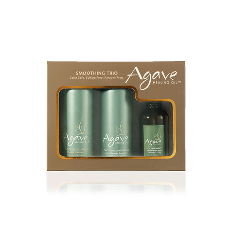 Agave Kit Take-Home Smoothing Haircare Trio