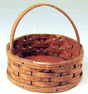 Round Woven Basket by Chandronnait - Discontinued