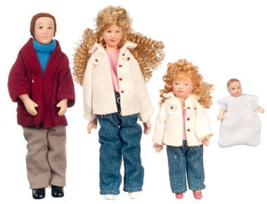 Doll Family, Modern, Blonde Curls