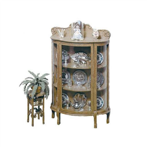 China Cabinet and Plant Stand Kit