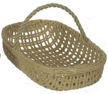Rectangle Woven Basket with Handle