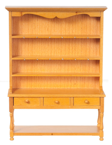 Large Welsh Dresser, Oak Finish