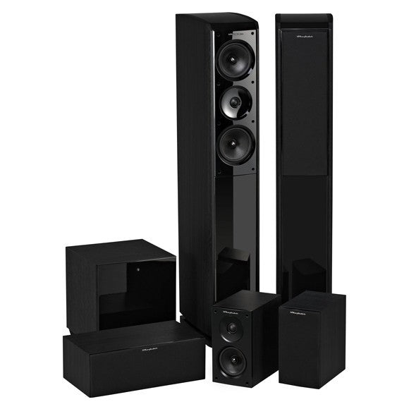 Wharfedale OBSIDIAN 600 HCP 5.0 Channel - Home Cinema Systems - Jamsticks