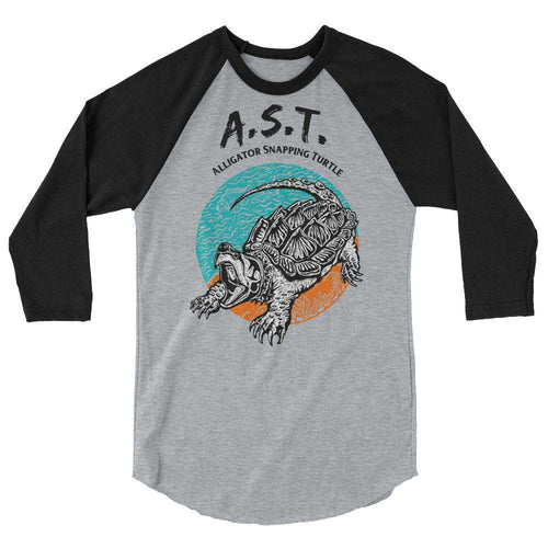 Alligator Snapper Raglan