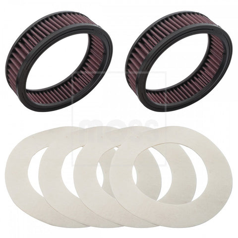 222-928 MGA K&N AIR FILTER KIT