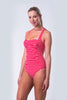 Twist Front One Piece Swimsuit - Nautical Reds Collection