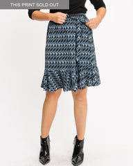 Fiesta Skirt - Black Crepe